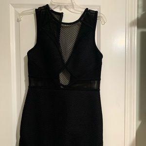BCBG Fishnet Dress
